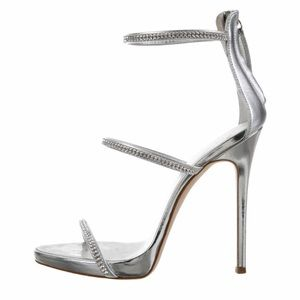 Giuseppe Zanotti - Crystal Embellished Sandal